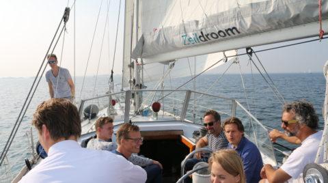 Persoonlijk leiderschap of teamontwikkeling aan boord van een Zeilschip